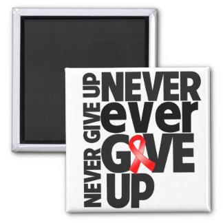 Blood Cancer Never Ever Give Up Magnets
