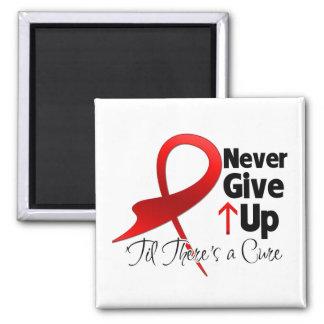 Blood Cancer Never Give Up Fridge Magnets