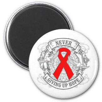 Blood Cancer Never Giving Up Hope Magnets