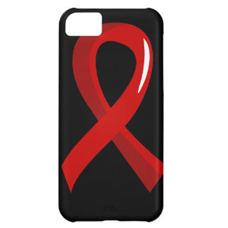 Blood Cancer Red Ribbon 3 iPhone 5C Covers
