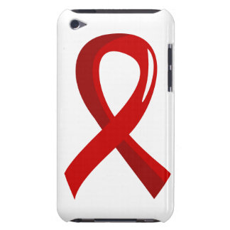 Blood Cancer Red Ribbon 3 Barely There iPod Cases