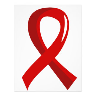 Blood Cancer Red Ribbon 3 Flyers
