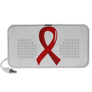 Blood Cancer Red Ribbon 3 Portable Speakers