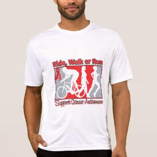 Blood Cancer Ride Walk Run Tee Shirt