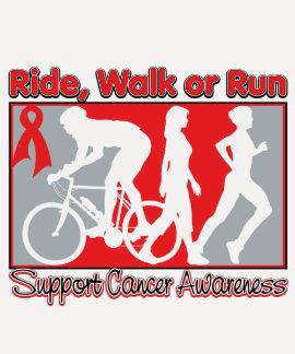 Blood Cancer Ride Walk Run Tees
