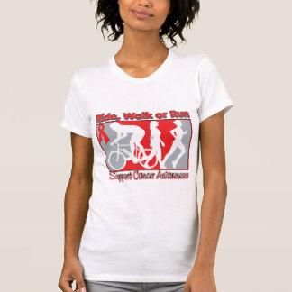 Blood Cancer Ride Walk Run T-shirts