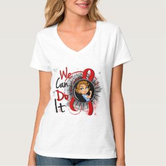 Blood Cancer Rosie Cartoon WCDI Tshirts