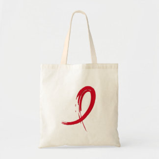 Blood Cancer s Red Ribbon A4 Bag