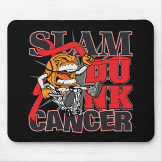 Blood Cancer - Slam Dunk Cancer Mouse Pad