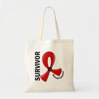 Blood Cancer Survivor 12 Canvas Bags