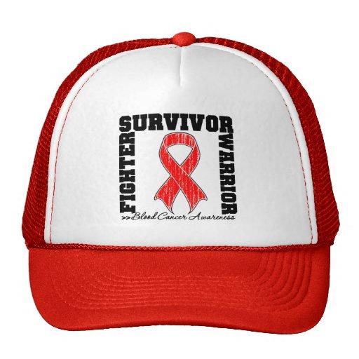 Blood Cancer Survivor Fighter Warrior Mesh Hats