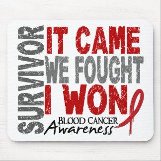 Blood Cancer Survivor It Came We Fought I Won Mouse Mat
