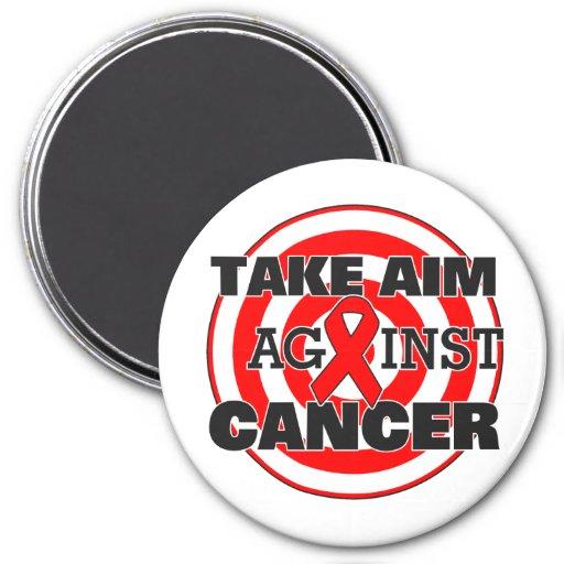 Blood Cancer Take Aim Against Cancer Magnet