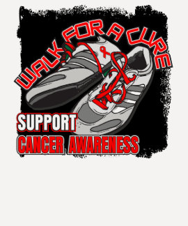 Blood Cancer Walk For A Cure Shoes T-shirts