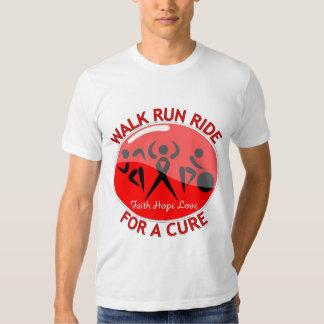 Blood Cancer Walk Run Ride For A Cure Shirts