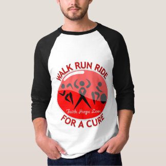Blood Cancer Walk Run Ride For A Cure Tee Shirts