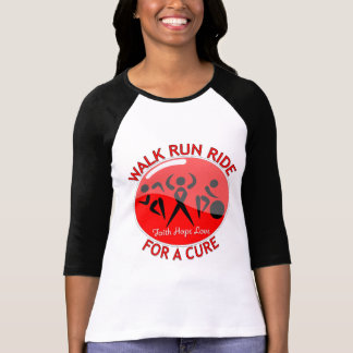 Blood Cancer Walk Run Ride For A Cure T Shirt