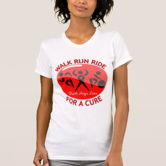 Blood Cancer Walk Run Ride For A Cure Tee Shirts