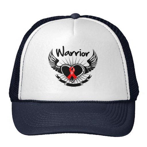 Blood Cancer Warrior Fighter Wings Trucker Hat