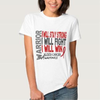 Blood Cancer Warrior Tee Shirt