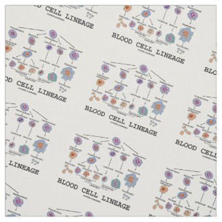 Blood Cell Lineage Biology Health Medicine Fabric
