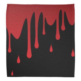 Blood dripping bandana