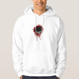 Blood fist hoodie