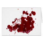 Blood Greeting Cards
