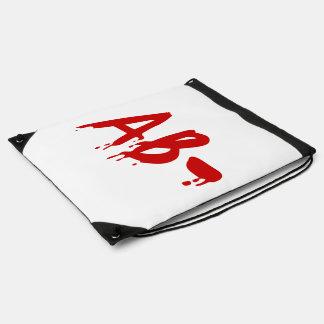 Blood Group AB- Negative #Horror Hospital Drawstring Bags