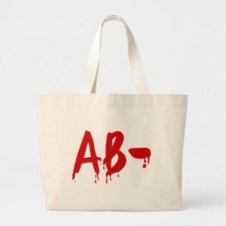 Blood Group AB- Negative #Horror Hospital Jumbo Tote Bag