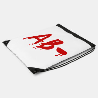 Blood Group AB- Negative Horror Hospital Cinch Bag