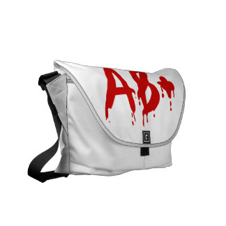 Blood Group AB+ Positive #Horror Hospital Commuter Bags