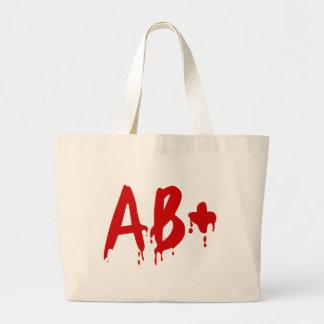 Blood Group AB+ Positive #Horror Hospital Jumbo Tote Bag