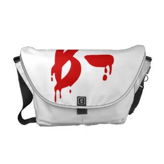 Blood Group B- Negative #Horror Hospital Commuter Bags