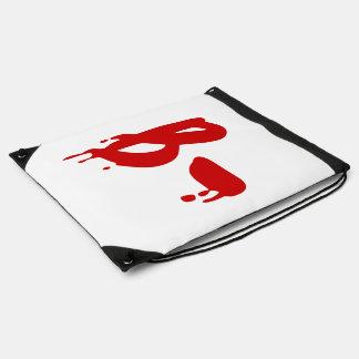Blood Group B- Negative #Horror Hospital Cinch Bag