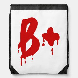 Blood Group B+ Positive #Horror Hospital Backpacks