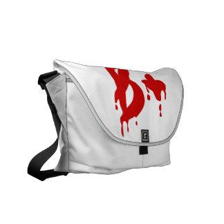 Blood Group B+ Positive #Horror Hospital Messenger Bags
