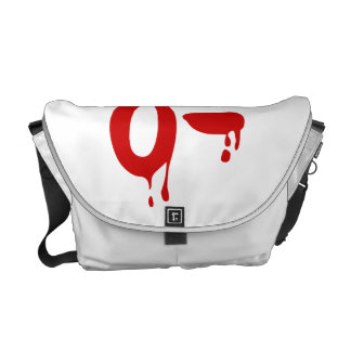 Blood Group O- Negative #Horror Hospital Messenger Bags