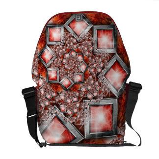 Blood jewels Rickshaw Messenger Bag