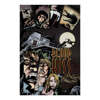 "Blood Kiss 24""x36"" Movie Poster #2"