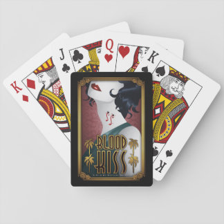 Blood Kiss Playing Cards with Chris Salmon Poster