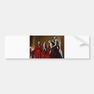 Blood Mascarade Bumper Sticker
