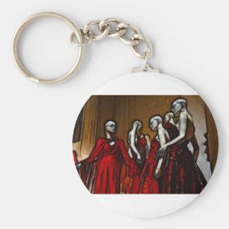 Blood Mascarade Basic Round Button Key Ring