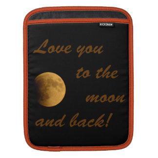 Blood Moon September 27, 2015 iPad Sleeve