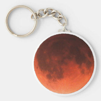Blood Moon Tetrad Basic Round Button Key Ring