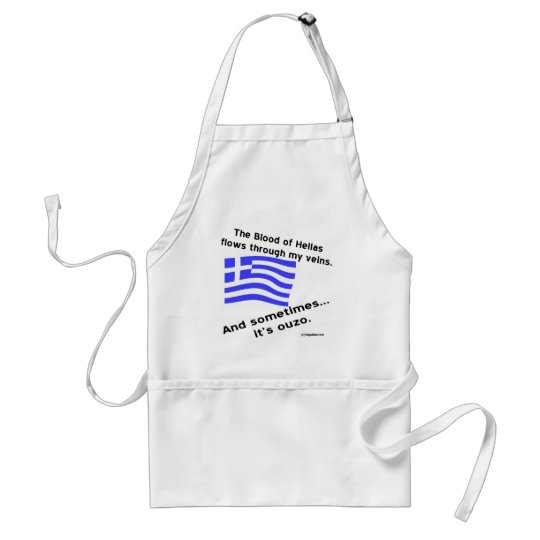 Blood of Hellas & Ouzo Standard Apron