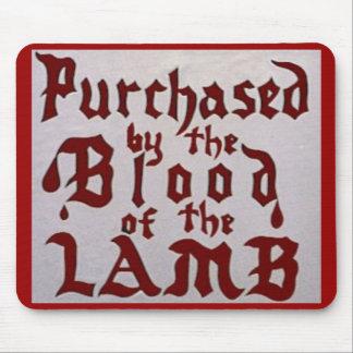 Blood of the Lamb mousepad