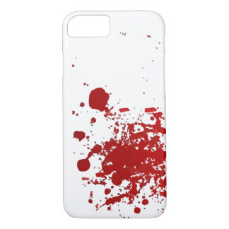 Blood or Ink Splatter Design Case