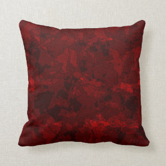 Blood Red Cushion