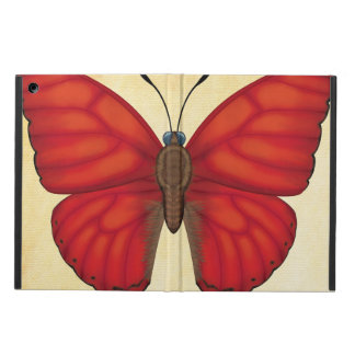 Blood Red Glider Butterfly Cover For iPad Air